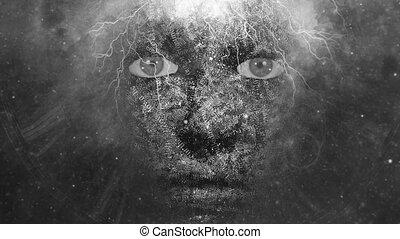 arc, misztikus