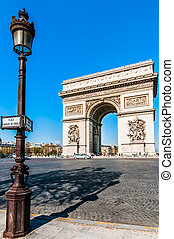 arc of triumph paris city France
