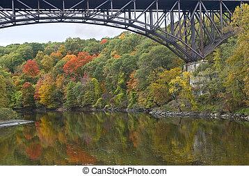 arc pont, popolopen, ruisseau