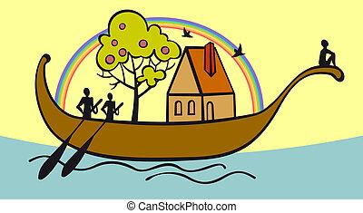 arca, famiglia