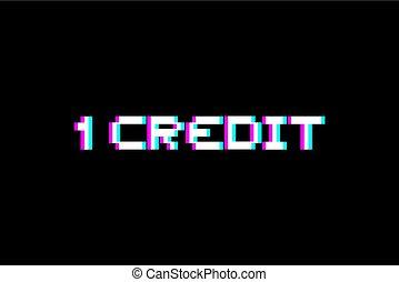 arcada, 1, crédito, mensagem