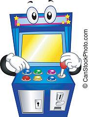 Arcade Game Mascot - Mascot Illustration of an Arcade Game...