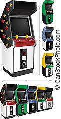 arcade, jeux
