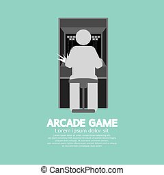 Arcade Machine Player.