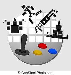 Arcade play - Creative design of arcade play
