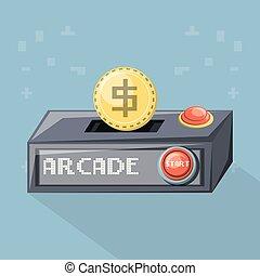 arcade video game design