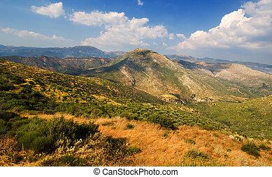 arcadia, krajobraz