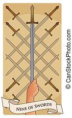 arcana-08, swords-minor