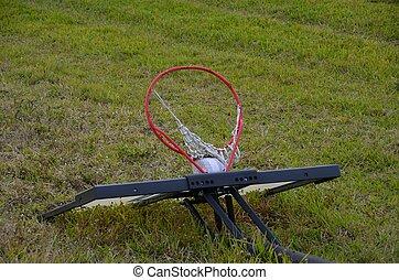 arceau basket-ball, jeté