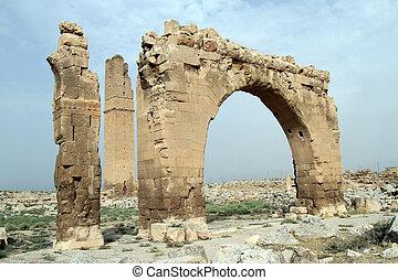 Arch and minaret