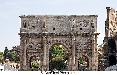 Arch at Roman Forum