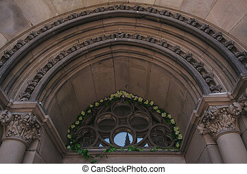 Arch at the Church in Lviv