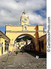 Arch in Antigua city