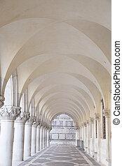 Arch in St Marks Square; Venice