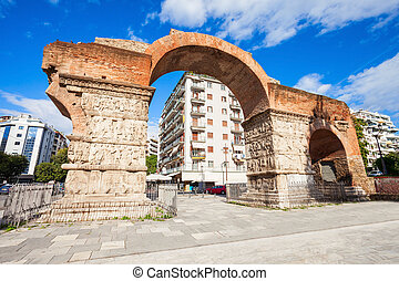 Arch of Galerius, Thessaloniki - The Arch of Galerius is...