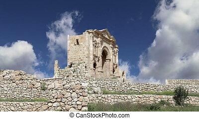 Arch of Hadrian in Gerasa, Jordan