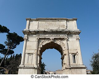 Arch of Titus at the Roman Forum