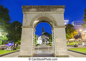 Arch on Grand Parade Square in Halifax