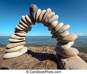 Arch on the coast