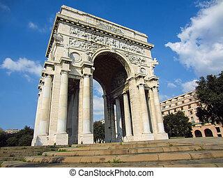 Arch to the Fallen, Genoa