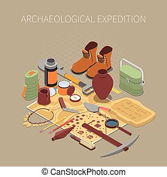 Archaeological Expedition Concept - Archaeological...