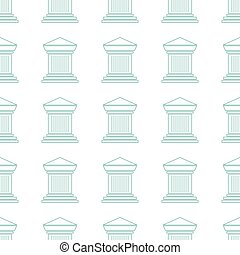 Archaeological seamless pattern