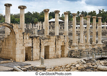 archaeological site, Beit Shean, Israel