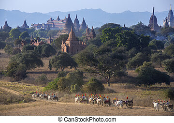 Archaeological Zone - Bagan - Myanmar (Burma)