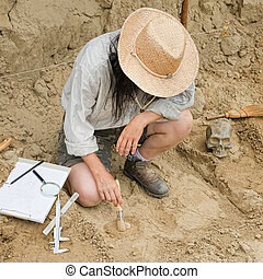 Archaeology - Archaeological excavation - Archaeologist...