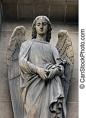 Archangel Gabriel, Madeleine church in Paris