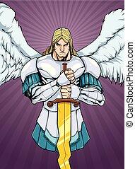 Archangel Michael Portrait 2