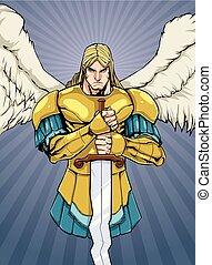 Archangel Michael Portrait