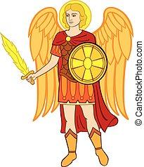 Archangel michael - Vector arms of Kiev