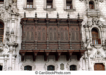 archbishop's, balcon, palais
