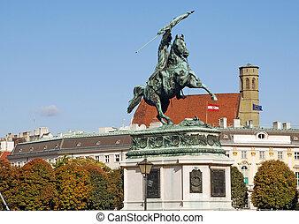 Archduke Charles of Austria Statue (Vienna, Austria)