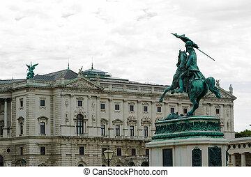 Archduke Charles of Austria Statue, Vienna