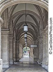 Vienna City Hall Entrance Hall