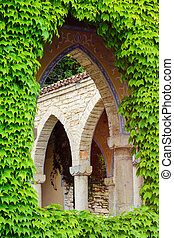 Arched Window Opening