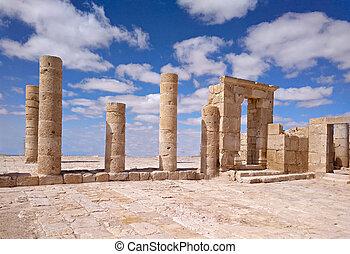 Archeological park Avdat in Israel
