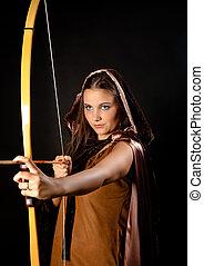 Archer woman