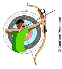 archery male archer