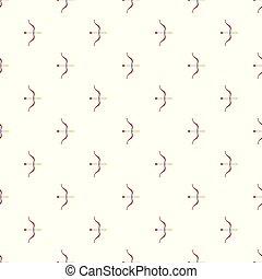 Archery pattern seamless vector