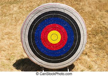 Archery Target - A single archery target. As a summer camp ...