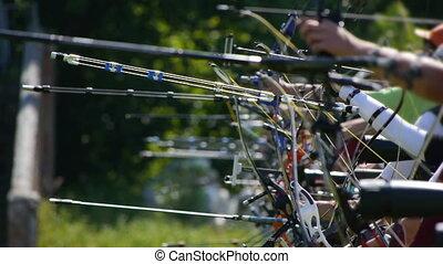 Archery. tournament