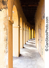 Arches and passageway