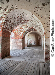 Arches at Fort Pulaski