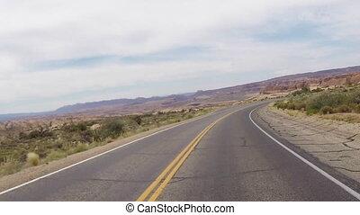 Arches Desert Road