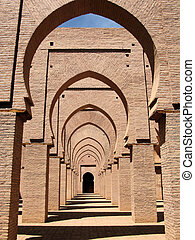 arches in a mosque