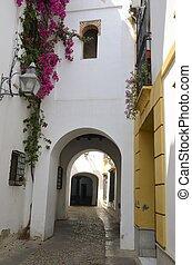 Arches in passageway