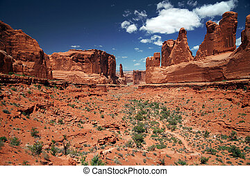 Arches National Park in Utah, USA